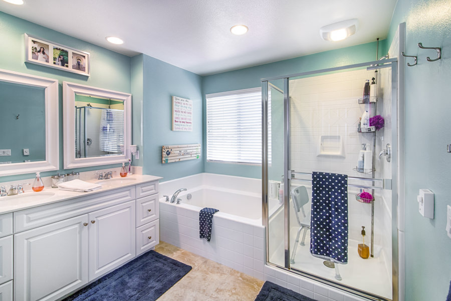San Diego Real Estate Photography Bathroom