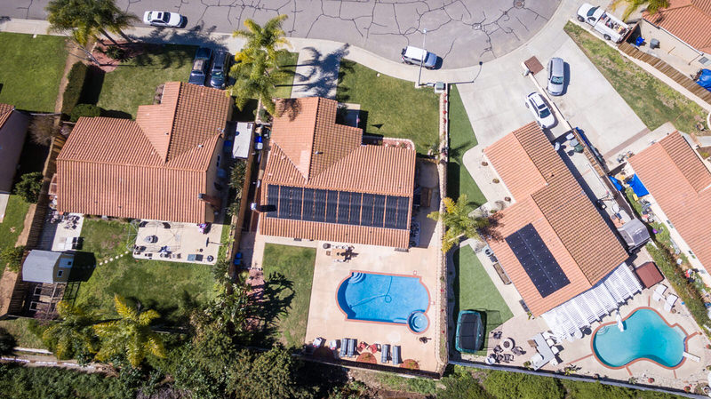 agent elevation aerial drone photography